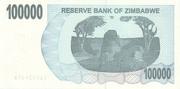 100 000 Dollars (Bearer Cheque) – reverse