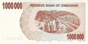 1 000 000 Dollars (Bearer Cheque) – reverse