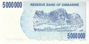 5 000 000 Dollars (Bearer Cheque) – reverse