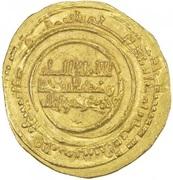 Dinar - al-Mu'izz b. Badis (North Africa) – obverse