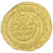 Dinar - al-Mu'izz b. Badis (North Africa) – reverse