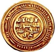 Dinar - al-Muzaffar ibn 'Ali – obverse