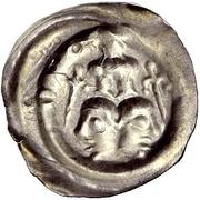 1 Pfennig - Hartmann & Ludwig von Froburg – reverse