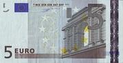5 Euro – obverse