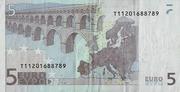 5 Euro – reverse