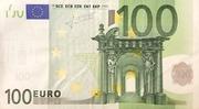 100 Euro -  obverse