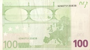 100 Euro – reverse