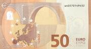 50 Euro (Europa series) – reverse