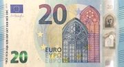 20 Euro (Europa series) -  obverse