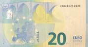 20 Euro (Europa series) – reverse