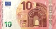 10 Euro (Europa series) – obverse