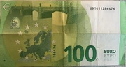 100 Euro  (Europa series) – reverse
