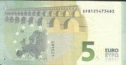 5 Euro (Europa series) – reverse