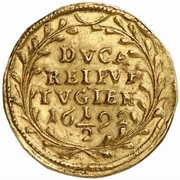 ½ Ducat (Trade Coinage) -  obverse