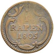 Rappen – reverse