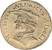 Ducat (Huldrych Zwingli) – obverse
