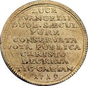 Ducat (Huldrych Zwingli) – reverse