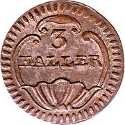 3 Haller – reverse