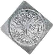 Batzen (Klippe; 2 batzens weight) – reverse