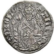 Plappart (Small shield on cross) – reverse