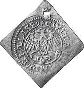 Schilling (Klippe; 1½ schillings weight) – reverse