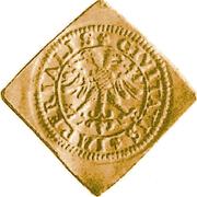 Schilling (Klippe; 1 ducat weight) -  reverse