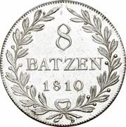 8 Batzen – reverse