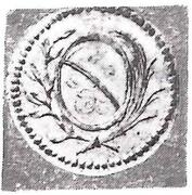 3 Haller (Klippe) – obverse