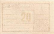 20 Heller (Zwettl) -  reverse