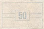50 Heller (Zwettl) -  reverse