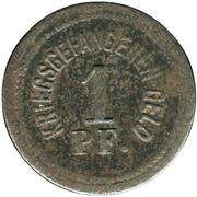 1 Pfennig - Zwickau (Gefangenenlager, POW) – reverse