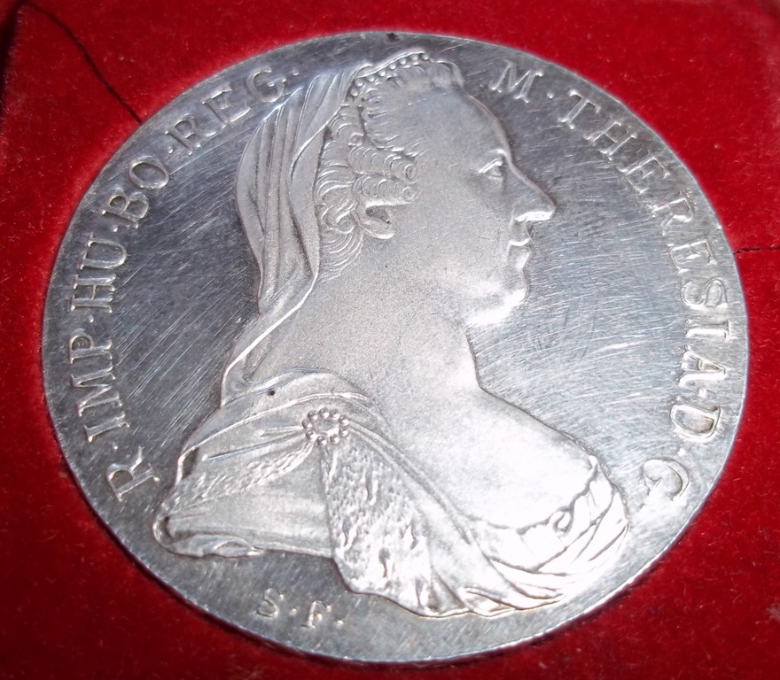 1 Dollar Silver Coin