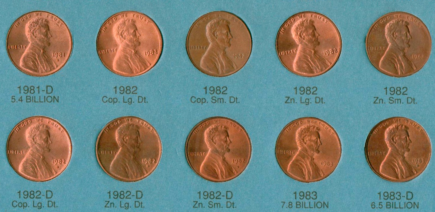 Lincoln cent 1982 – Numista
