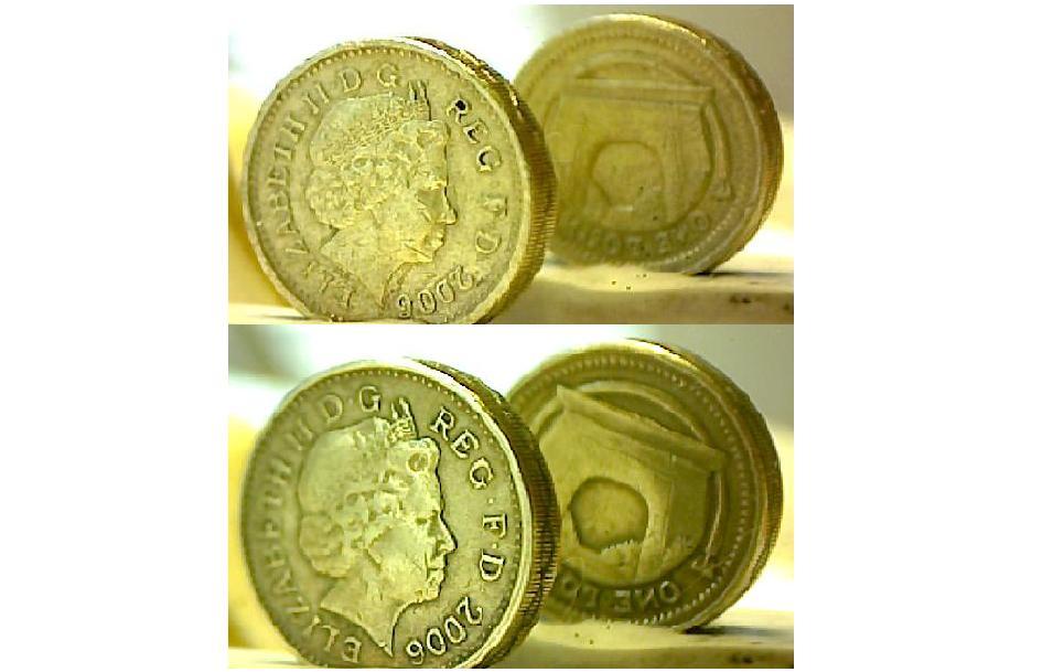 fake one pound coins