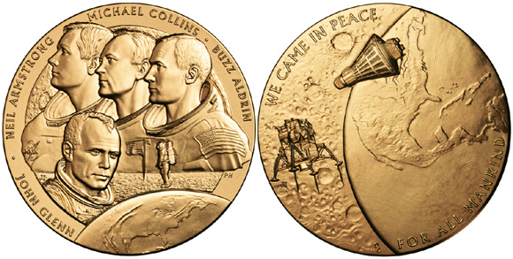 neil armstrong medals - photo #30