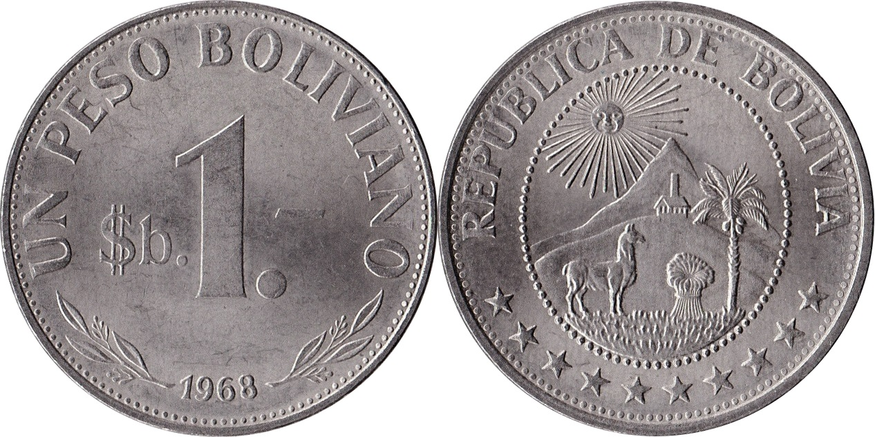 World Coins Chat Bolivia Numista