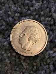 belgiqve 20f coin
