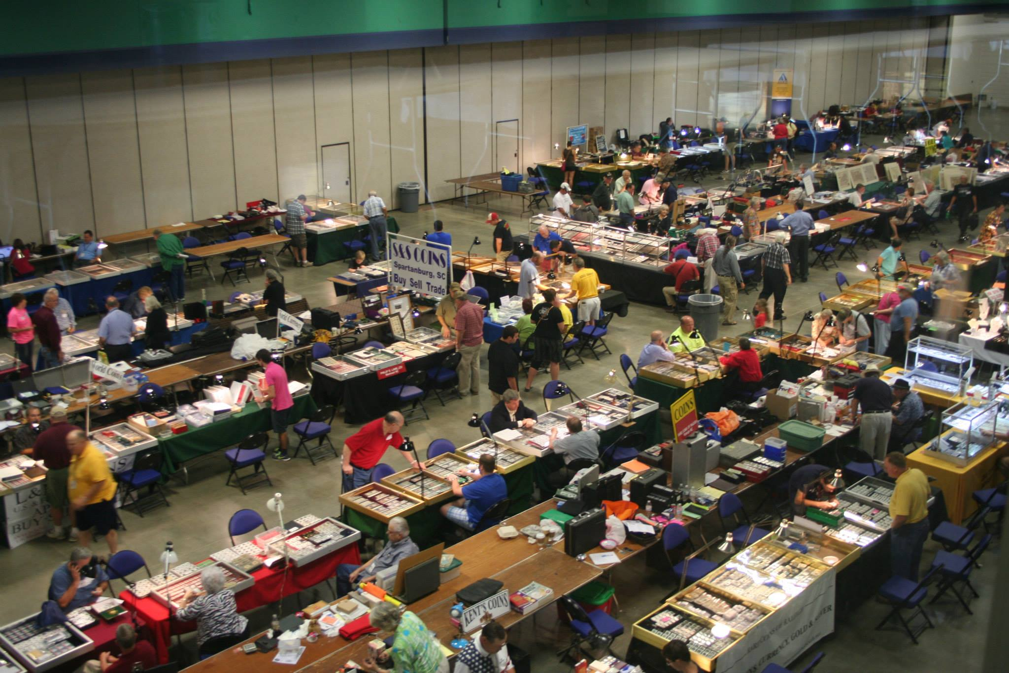 57th annual ncna coin show and convention greensboro for Craft shows in ohio
