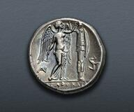 Picture 1 of a sold Tetradrachm - Agathokles