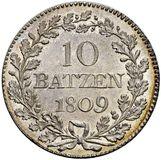 Picture 1 of a sold 10 Batzen