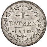 Picture 1 of a sold 1 Batzen / 10 Rappen